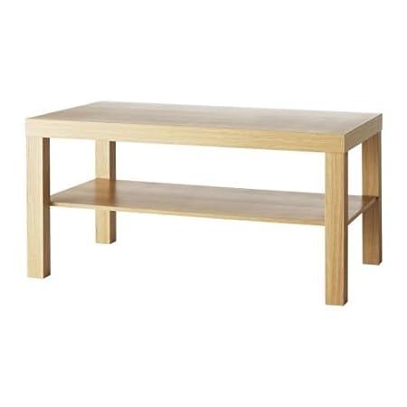 Mesa de café negro / marrón., madera, OAK EFFECT, coffee table ...