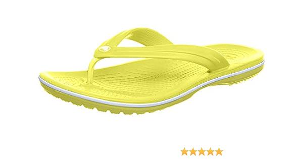 Pink//White 11033-6NR   fktzhxft CROCS Crocband FLIP Beach Shoes  Crocband Color