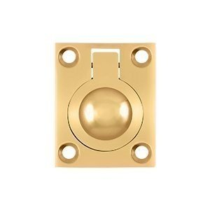 """3/4"""" Center Ring Pull Finish: PVD Polished Brass"""