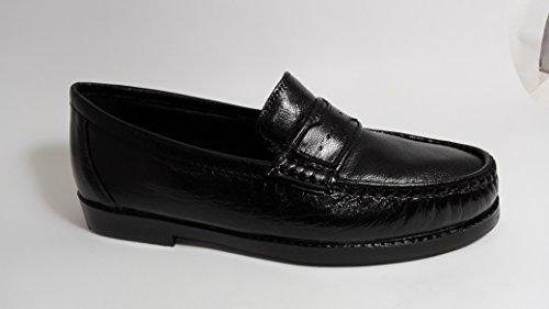 piel Negro Zapato en hombre de Clasico Carrús TqwZx