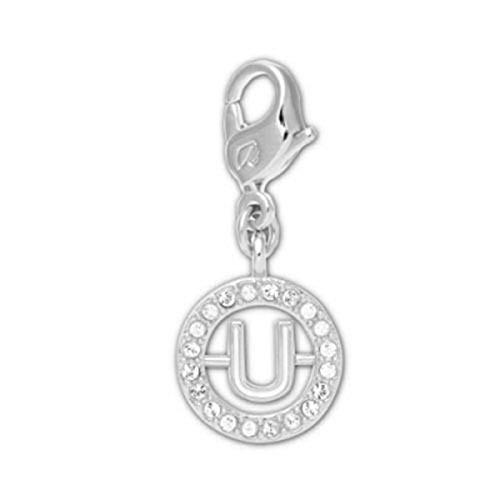 Swarovski Clear Crystal Jewelry Letter U Charm AW11 (Swarovski Crystal Letter)