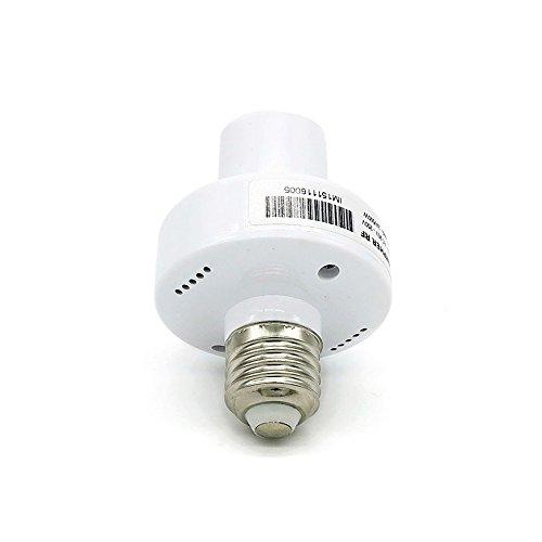 Sonoff Wifi E27 Slampher WIFI 433MHz Bulb Holder Smart Led Light Base Socket,Work with Amazon Alexa by Sonoff (Image #1)