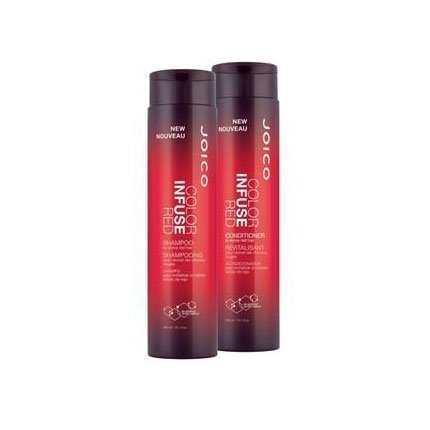 Joico New Color Infused Red Shampoo & Conditioner Holiday Duo Set 10 0z (Best Shampoo For Red Dyed Hair)