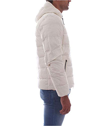 Woolrich Uomo Bianco Wolow0001white Piumino Poliestere BrxaBYq