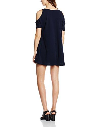 Blau Damen Kleid Scampanato Roma Abito Isabella q1vUU