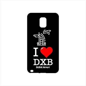 Fmstyles - Samsung Note 4 Mobile Case - I love like DXB Dubai airport
