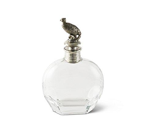 Vagabond House Pewter Pheasant Liquor Decanter 10