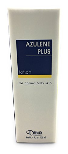Dinur Cosmetics AZULENE PLUS Lotion for normal/oily skin 4 fl. oz. 120 ml.