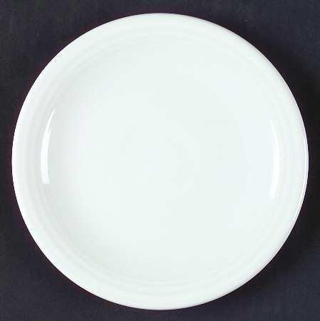 (Homer Laughlin Fiesta-White (Newer) Bread & Butter Plate, Fine China Dinnerware)