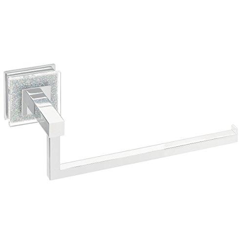 Ruvati RVA5005 Valencia Towel Ring Luxury Bathroom Accessory, Crystal and Chrome by Ruvati