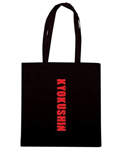 Shirt KYOKUSHIN Shopper Speed Nera Borsa TAM0118 YRPRawq