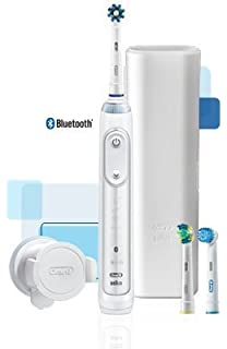 Oral-B Genius 5000 Professional Exclusive Electric Toothbrush Starter Kit with Bluetooth Connectivity