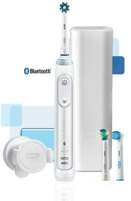 UPC 069055126585, Oral-B Genius 5000 Professional Exclusive Electric Toothbrush Starter Kit with Bluetooth Connectivity
