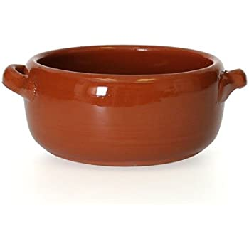 Amazon Com Rustic Clay Soup Bowl Soup Bowls