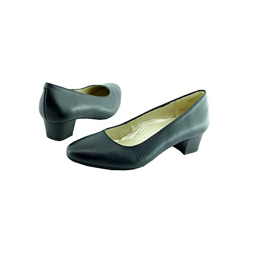 Escarpins Dhotesses Scarpe Blu Hostess In Pelle Blu Escale