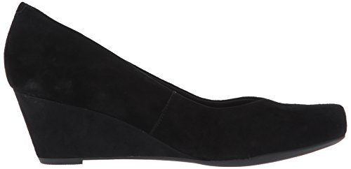 Black Clarks Tulip Flores Suede Women's Pumps qTrTxw4IE
