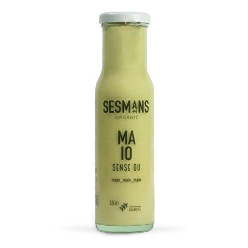 Sesmans, Salsa natural Mayonesa sin huevo - 3 de 240 gr. (Total 720
