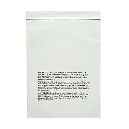 """PACK OF AMERICA 9x12 Clear Pack of 200 Poly Bags 