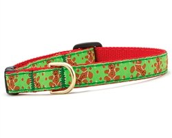 10\ Up Country Gingerbread Man Cat Collar (10 )