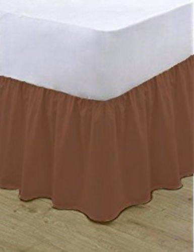 Available in 20 Colours Long Staple Fibre FIT OVER BASE EGYPTO Base Valance Sheet Frilled 100/% Polycotton OEKO-TEX Standard 100/% Certified Product. Double, Hot Pink