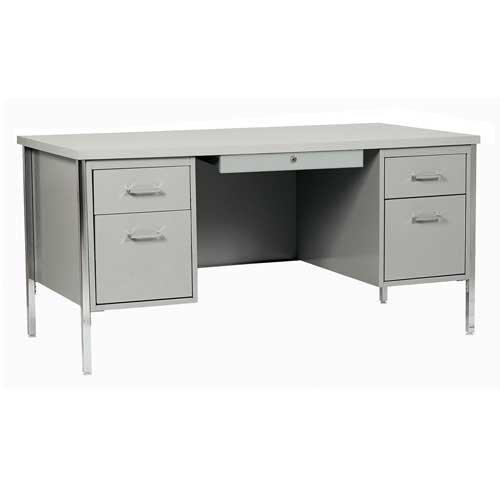 Sandusky Lee 30045-GY 500 Series Double Pedestal Desk, 30