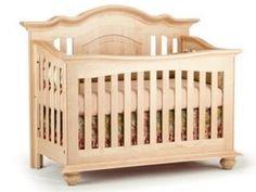 Full Size Conversion Kit Bed Rails for Echelon Diya Crib - Natural by CC KITS (Image #2)