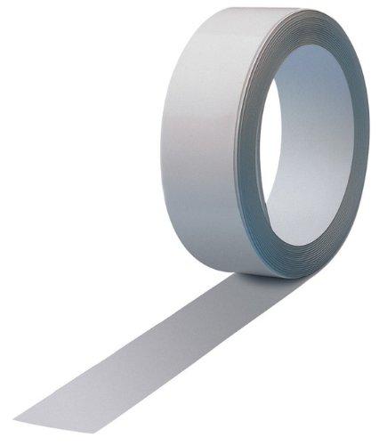 5 mtr. Magnetband Faxland, Magnethaft Wandleiste Selbstklebend, Ferroband, Ferroleiste, 5 meter Länge