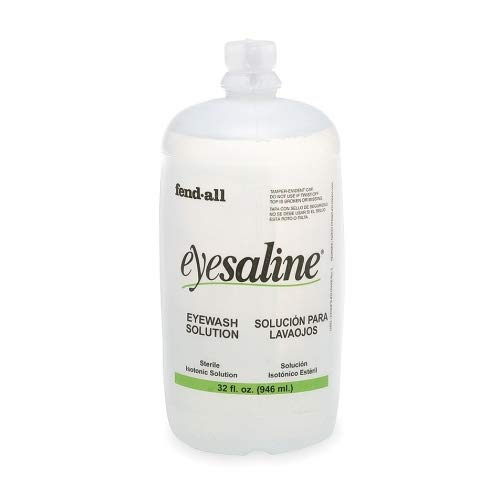 32 Oz. Refill, Eye And Face Wash Sterile Eyesaline by Medique