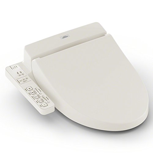 TOTO SW2034#12 C100 WASHLET Electronic Bidet Toilet Seat with PreMist, Elongated, Sedona Beige