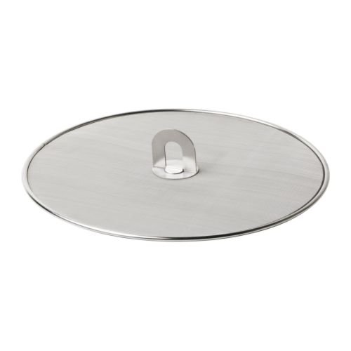 IKEA STABIL - Splatter screen, stainless steel - 33 cm
