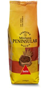 Delta Peninsular: mezcla de café molido y cebada asada 250g