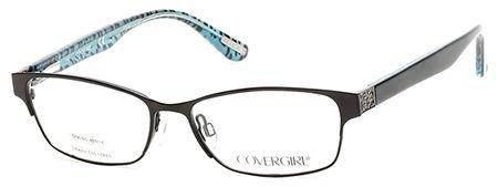 COVER GIRL Eyeglasses CG0530 002 Matte Black - Covergirl Eyewear