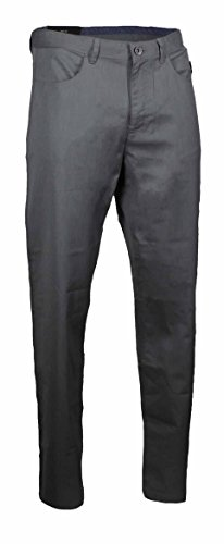 Calvin Klein Mens Textured Twill Cotton Casual Straight Fit Dress Pants  30X32  Castle Rock