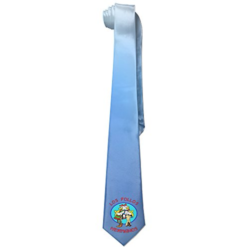 Costume Pollos Hermanos Los (Ggift Los Pollos Hermanos Men's Fashion Business Solid Necktie)