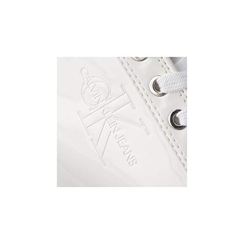 Calvin Deportivas Klein EU RE9799WHT 40 Ritzy Patent SnHgxS1