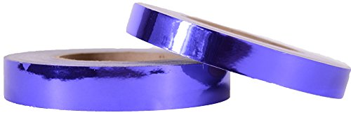 Light Tanzanite - Decorative Mirror Surface Metallic Tape - Tanzanite Light Purple (1-inch x 150-feet) by Hoopologie