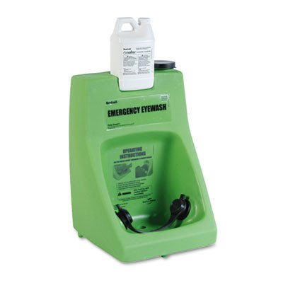Fendall Porta Stream I 6-Gallon (22.7 L) Refillable Secondary Emergency Eye Wash Station (with 70 oz. / 2.07 L Saline Concentrate)