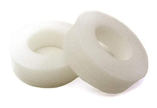 Integy RC Model Hop-ups OBM-009 Firm White Foam 105x33mm Tire Insert (2) for 1.9 Size 1/10 Scale - Tire Firm Foam Inserts