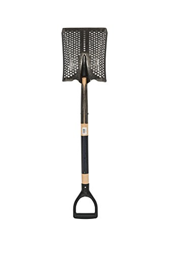 Point Shovel Wood Handle - Toolite 49493#2 Square Point Shovel, 29