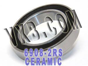6908LLU 40x62x12 Sealed Ball Bearing