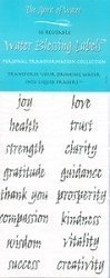 Water Blessing Labels: Personal Growth by The Spirit Of Water (2004) -