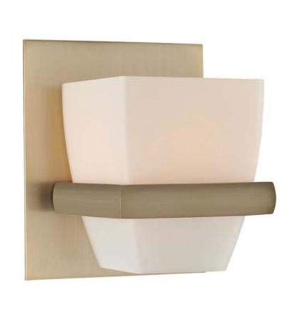 Malibu 1 Light Bath Brushed Bronze