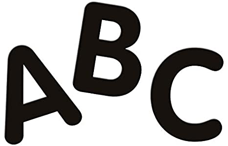 2-Inch 0051650 Pacon Letters Black-12