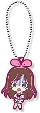 Kizuna Ai Youtuber Ver Fear Character Capsule Rubber Key Chain Mascot Bandai