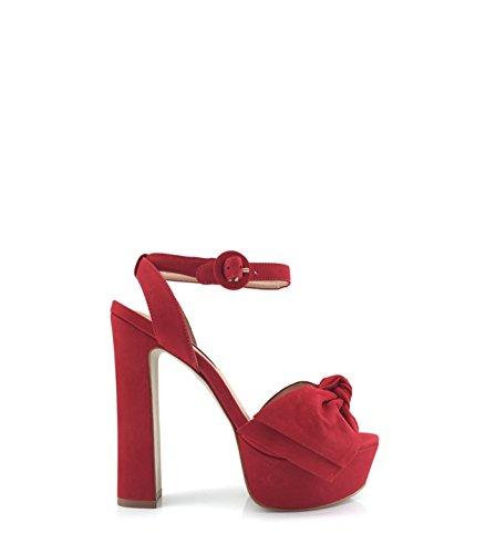 Steve Madden - Sandalias de vestir para mujer Rojo