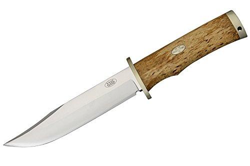 Fallkniven Model SK6 Krut Fixed Blade Knife, 6.25in, Cobalt Steel Blade, Curly Birch Handle