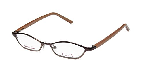 Thalia Preciosa Womens/Ladies Optical Brand Name Designer Full-rim Eyeglasses/Eyeglass Frame (47-15-130, Eggplant / - Top Name Brand Eyeglasses