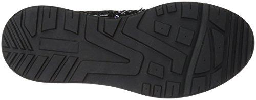 La Scarpa Da Donna Luca Slip-on Sequin Jogger Sneaker Nero / Multi Paillettes
