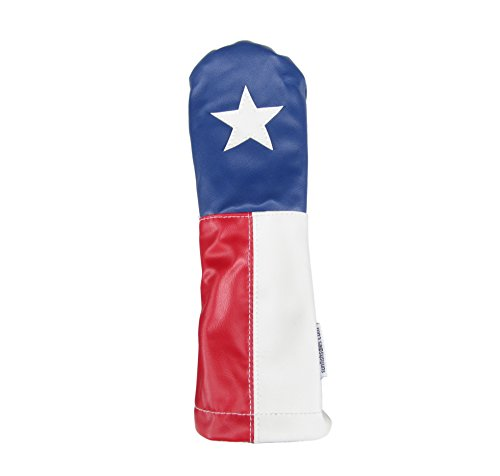 - Sunfish Leather Fairway Headcover - Texas Lone Star