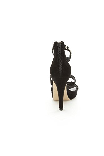 Luciano Barachini - Sandalias de vestir para mujer Negro negro negro